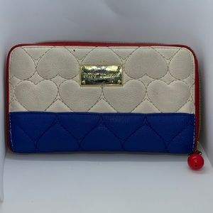 Betsey Johnson Wallet with Cherry Charm